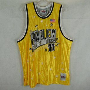 FUBU Platinum Harlem Globetrotters Jersey Men's XL